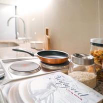 2-burner cooktop with rangehood