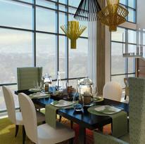4BR Penthouse (Dining area)