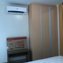 Built-in closet & split type AC