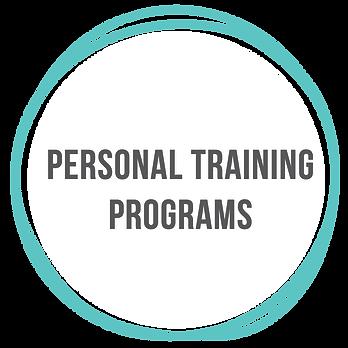 Personal Fitness Training Programs