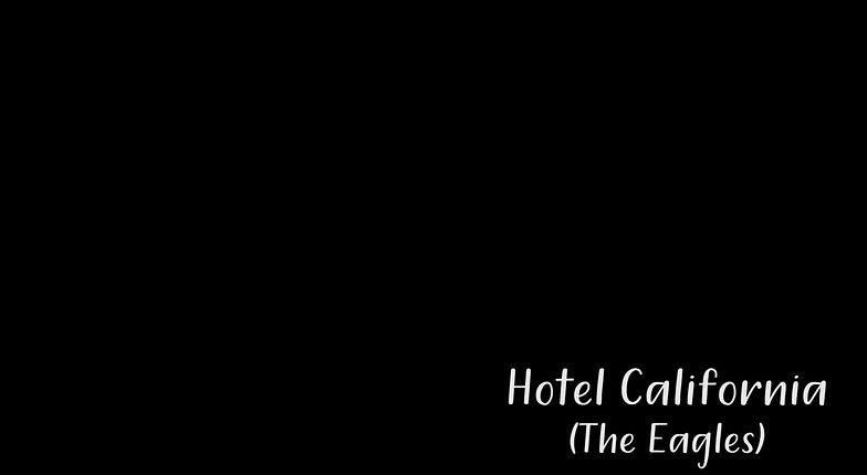 Hotel California (The Eagles) -  Solo Guitare