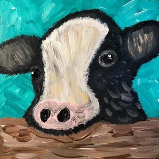 Barnyard Animals: Calf