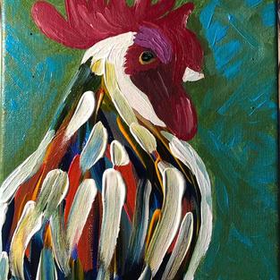 Barnyard Animals: Rooster