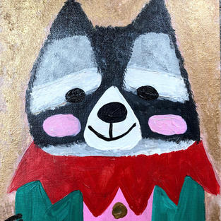 Whimsical Animal:  Raccoon
