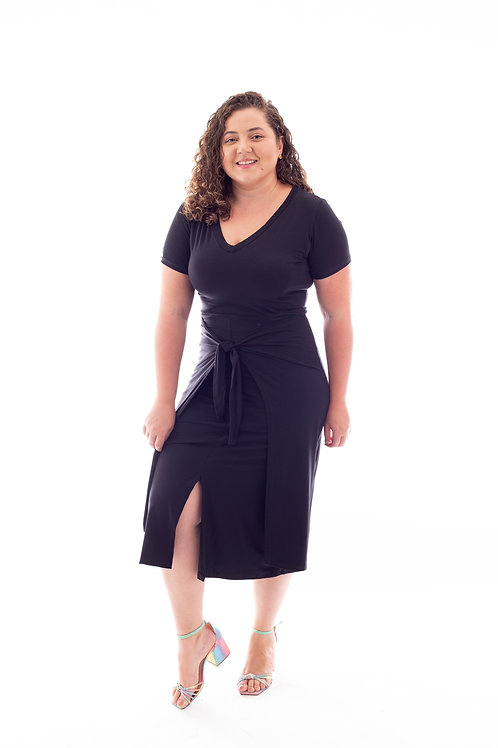Vestido Magda - preto