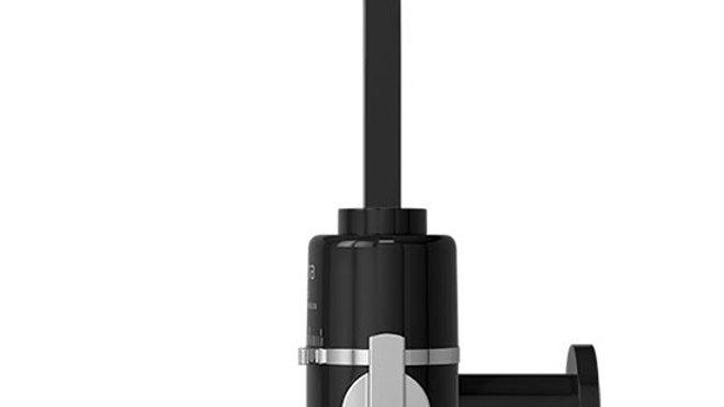 Torneira Parede Elétrica Preta Hydra Slim 4T 5500w 220v