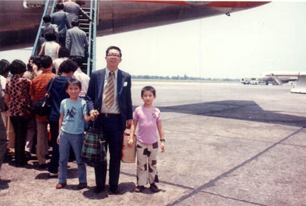 人生第一次坐飛機:Air Garuda 去曼谷