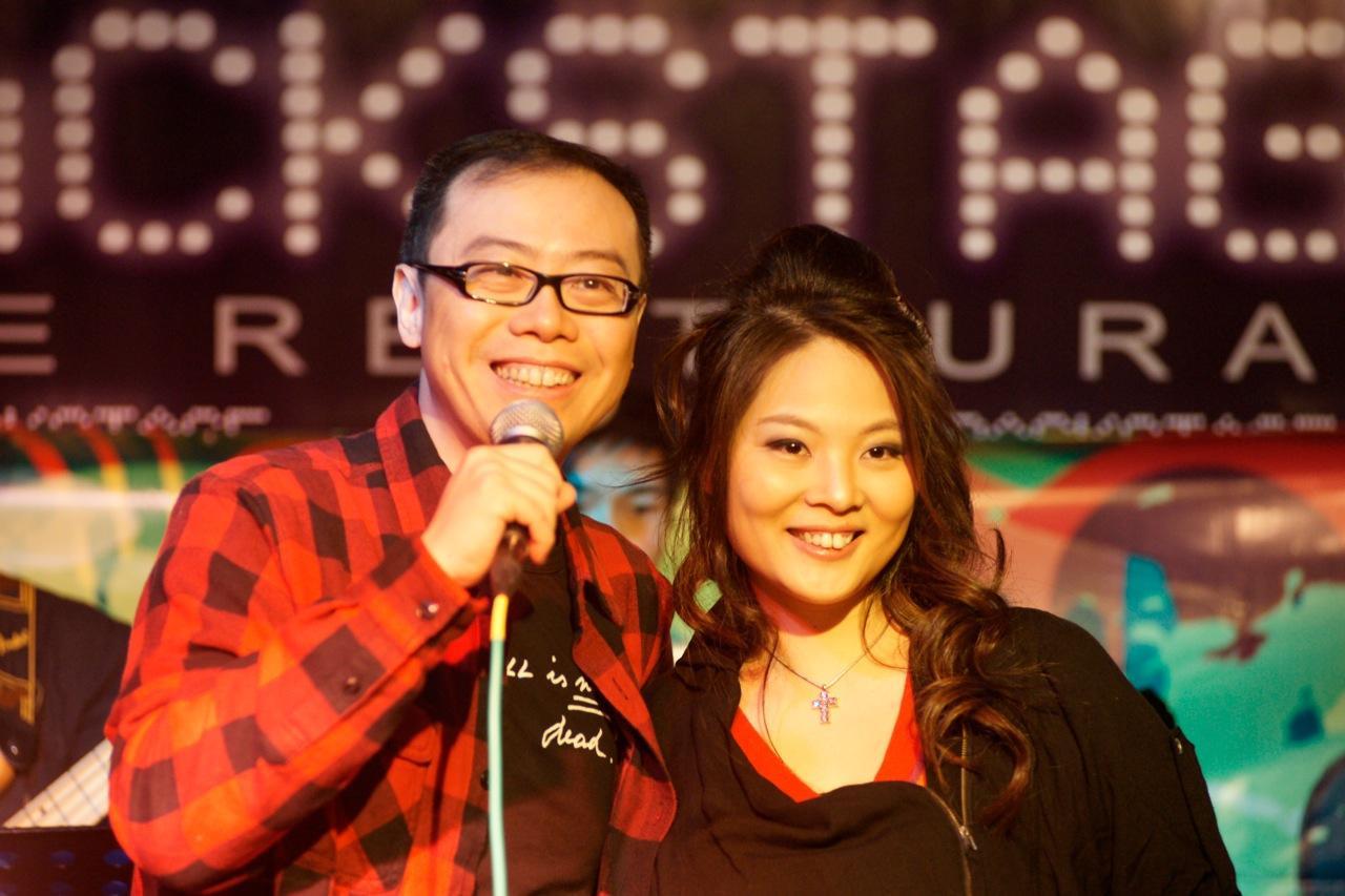 Lam & Mimi mini concert @ Backstage