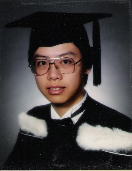 My graduation from the University of Toronto in 1996