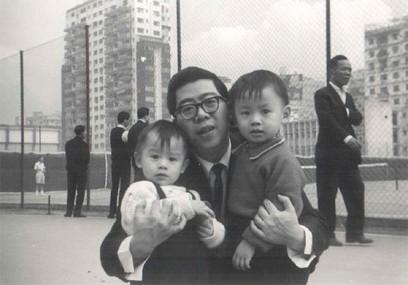 爸爸喜歡帶我兩兄弟去維園玩