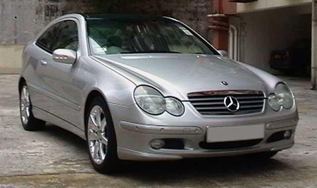 Mercedes C Coupe