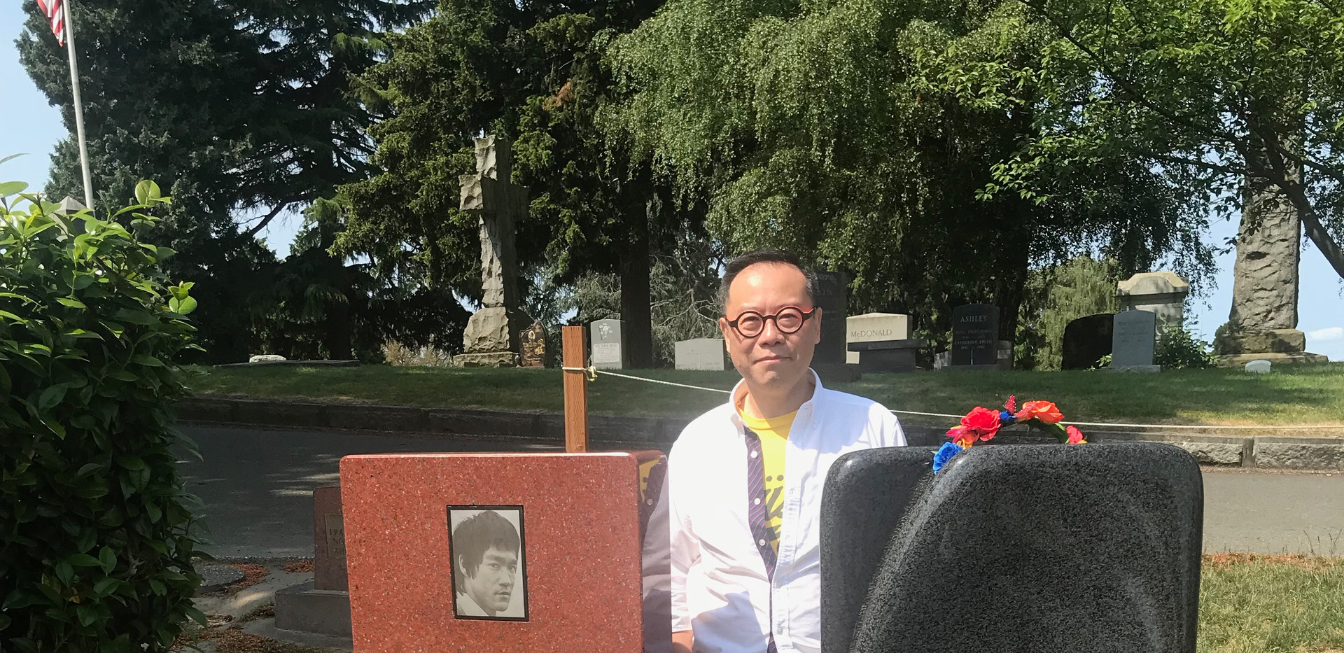 Bruce Lee and his son @ Seattle Jun 2018