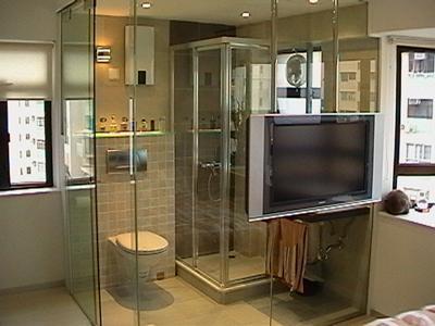 想當年很前衛的廁所設計