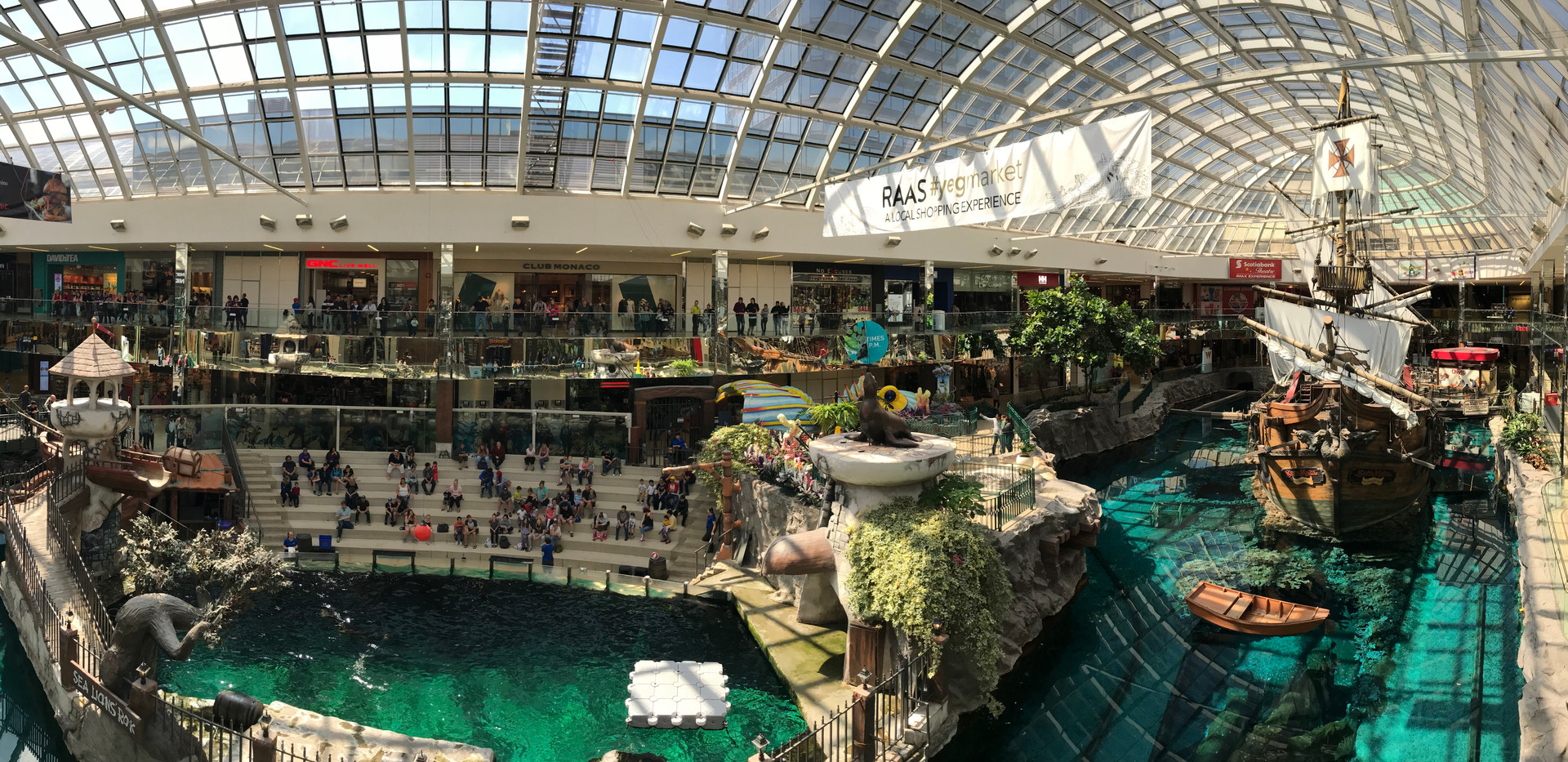 Edmonton Mall, Canada Jun 2018
