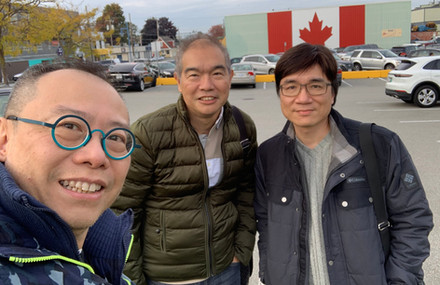 Great to catch up with old friends in Vancouver Oct 2019