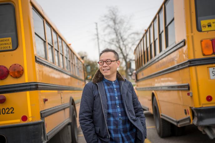 School bus - fond memories of my Grade 13