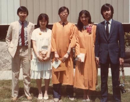 Grade 13 graduation at Niagara Christian College in 1983