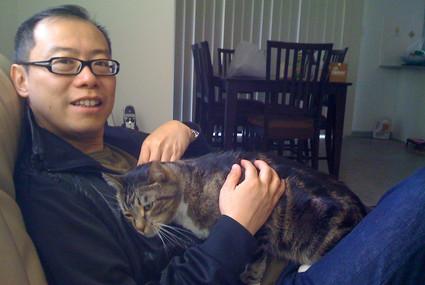 Vivian's cat