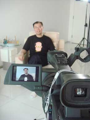 創世電視「人生熱線Action」拍攝 2007