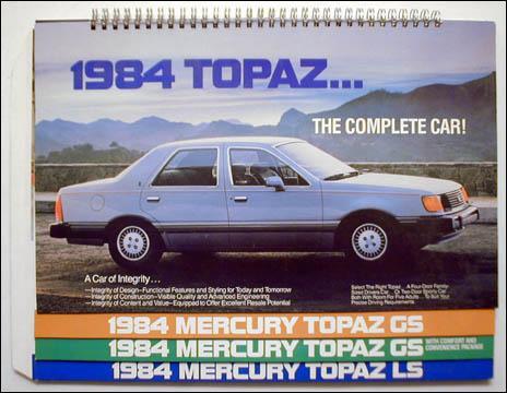 Mercury Topaz