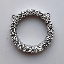 Platinum Diamond Pendant.