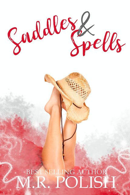 Saddles and Spells book cover