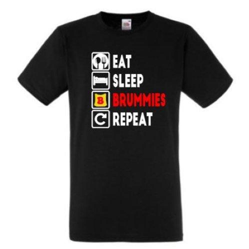Eat, Sleep, BRUMMIES, Repeat - T-SHIRT