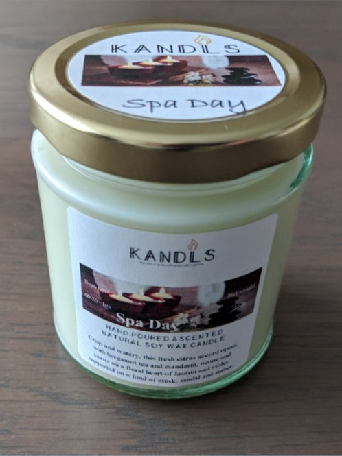 Spa Day candles & tealights
