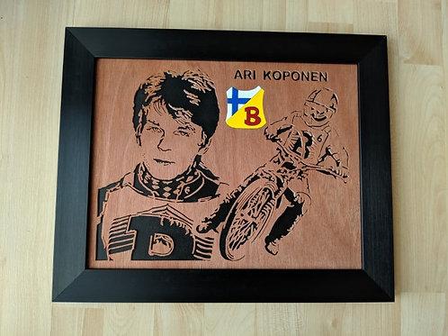 Ari Koponen / portrait / action / race jacket