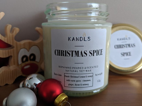 Christmas Spice candles & tealights