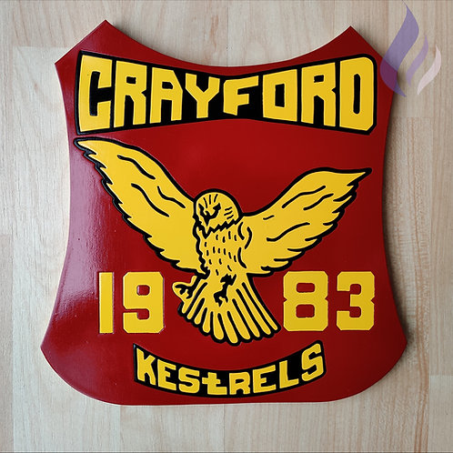 Crayford Kestrels 1983 race jacket