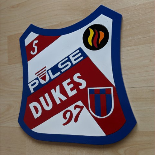 Bradford Dukes '97 race jacket