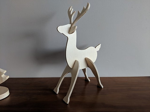 Reindeer ornament / table centrepiece
