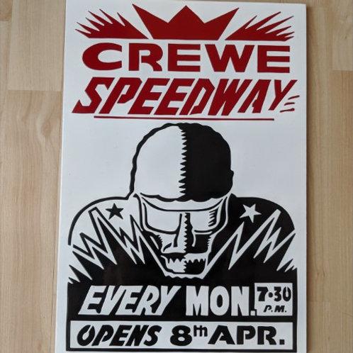 Crewe Speedway poster