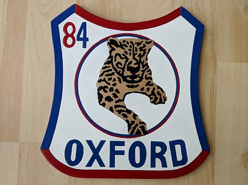 Oxford Cheetahs '84 race jacket