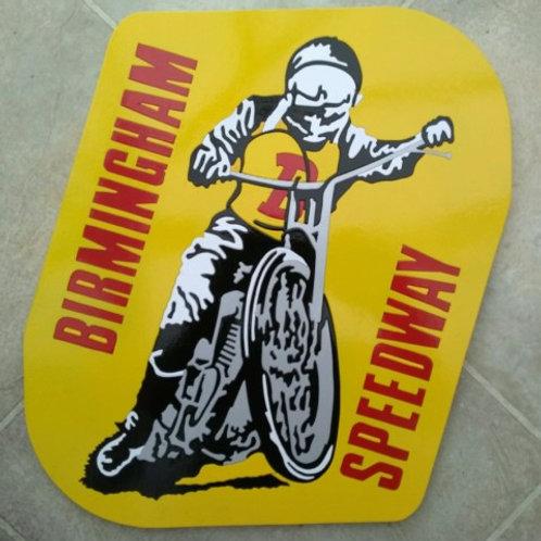 Birmingham Speedway plaque