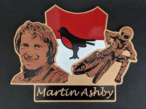 Martin Ashby race jacket / portrait / action