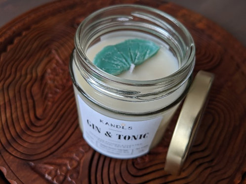 Gin & Tonic candles & tealights