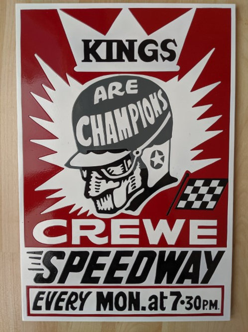 """Crewe """"Kings Are Champions"""" poster"""