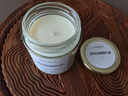Gingerbread candles & tealights