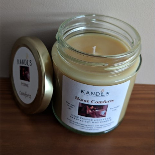 Home Comforts candles & tealights