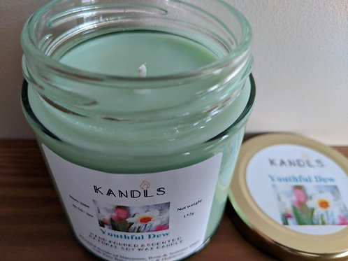 Youthful Dew candles & tealights