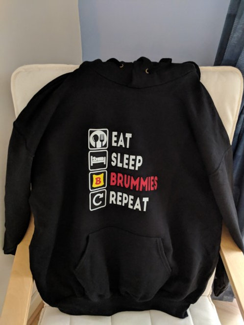 Eat, Sleep, BRUMMIES, Repeat - HOODIE