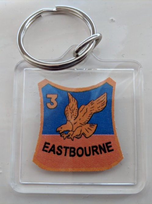 Speedway Keyrings - Eastbourne to Ipswich Witches