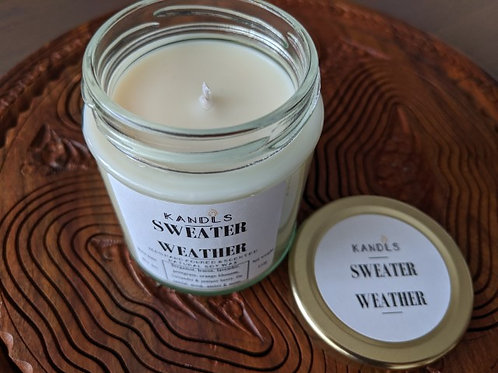 Sweater Weather candles & tealights