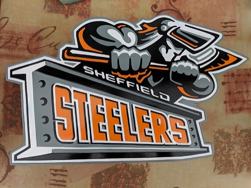 Sheffield Steelers ice hockey crest