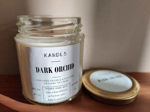 Dark Orchid candles & tealights