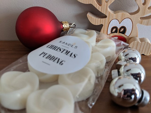 Christmas Pudding melts