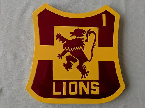 Paisley Lions 1975 **Double-sided**