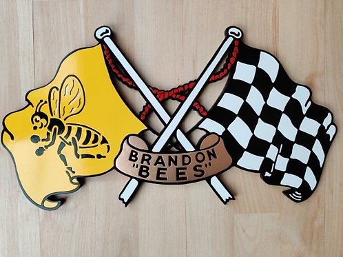 Coventry (Brandon) Bees flags